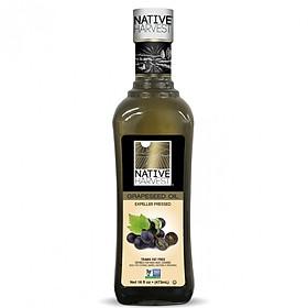 Dầu Hạt Nho Non-GMO 473ml Native Harvest - Nhập Khẩu Mỹ