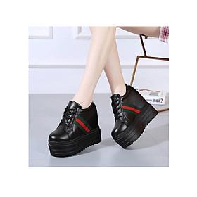 Giày bánh mì nữ đế độn cá tính siêu hot cao 11cm HN81BM