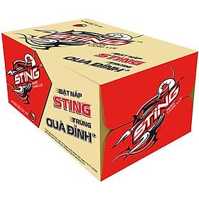 Thùng 24 Chai Sting Đỏ Dâu (330ml / Chai)