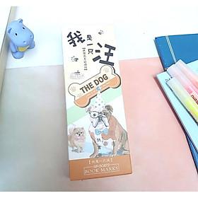 Bộ 30 Bookmark Đánh Dấu Sách The Dog