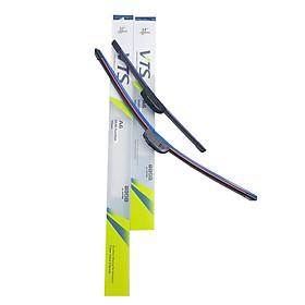 Bộ 2 thanh gạt nước mưa ô tô Nano xương mềm cao cấp dành cho hãng xe Hyundai: Getz - Accent - Avente  Elantra - i10 - i20 - i30- santafe - Sonata - Tucson - Starex - Verna