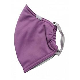 Hình đại diện sản phẩm Khẩu trang chống nắng UPF50+ Purple Sapphire Zigzag MAS00119