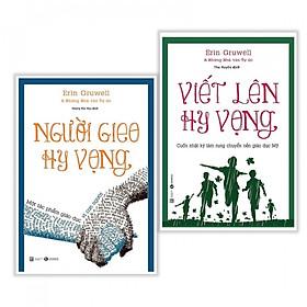 Combo Sách Kỹ Năng Sống : Người Gieo Hy Vọng + Viết Lên Hy Vọng - Tặng Kèm Sổ Tay + Móc Khoá