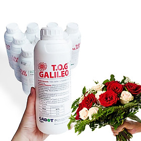 NƯỚC CẮM HOA HỒNG LÂU TÀN (1 LÍT TOG) nhập khẩu ISAREL dành cho Nhà Vườn Trồng Hoa Grower bảo quản hoa