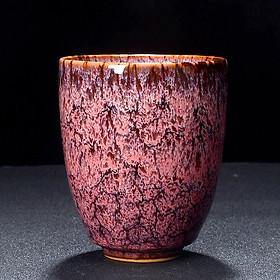 Cốc uống trà bằng sứ kiểu cổ điển phong cách Trung Quốc 200ml