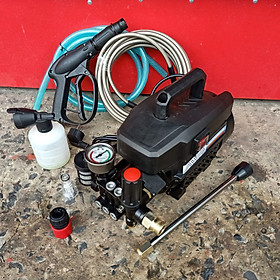 Máy rửa xe công suất cực mạnh awa điều chỉnh áp - động cơ 100% lõi dây đồng bền bỉ