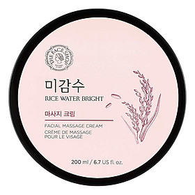 Kem Massage The Face Shop Rice Water Bright Massage Cream 200ml