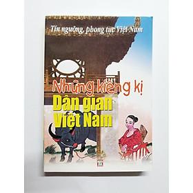 Những Kiêng Kị Dân Gian Việt Nam