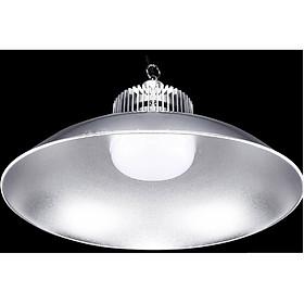 Đèn Led pha xưởng đui xoáy ánh sáng trắng chụp đèn tròn cao cấp