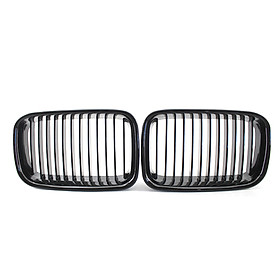 Front Grille Replacement for BMW E36 325i 320i 318is 1992-96 Grille High Gloss Black Cool Bussiness Style