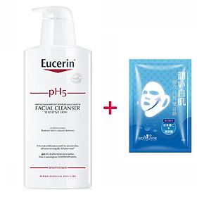 Sữa rửa mặt không gây kích ứng Eucerin pH5 Facial Cleanser 400ml (Nhập khẩu)