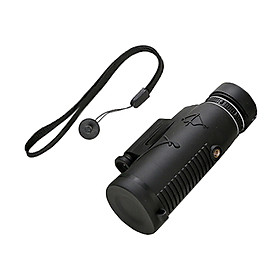Monocular Telescope 50X60 HD Waterproof Focusing Pocket Monocular Lighting Function with Night Vision Durable and Clear