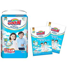 Tã quần Goon Premium cao cấp gói siêu đại XXL44 (15kg ~ 25kg) + Tặng thêm 10 miếng cùng size