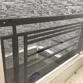 tấm nhựa trong suốt bọc lan can cầu thang , ban công , cửa cổng