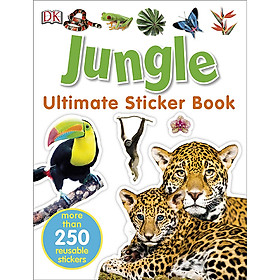 Ultimate Sticker Book Jungle