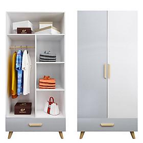 Tủ quần áo hiện đại thông minh TUR033 Giao màu ngẫu nhiên