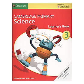 Cambridge Primary Science 3: Learner Book