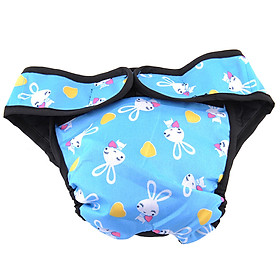 Cute Dog Pet Puppy Anti-Harassment Diapers Women's Underwear Reusable Cloth Shorts Diaper