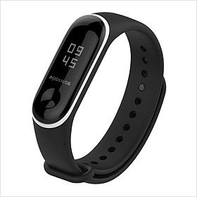 Band Strap Watch Strap Sport Fashion Wearable Replaceable Translucent Double color Watch Band Replacement for XIAOMI MI