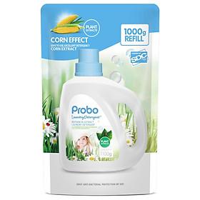 Túi nước giặt xả trẻ em chiết xuất thực vật PROBO-1000g