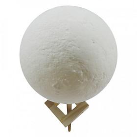 Đèn Ngủ Trang Trí Hình Mặt Trăng 3D