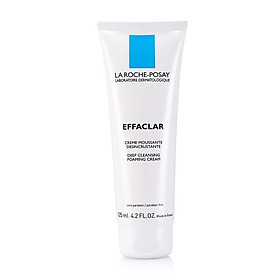 LA ROCHE-POSAY Cleansing Oil Cleansing Foam 125ml (Foam Cleansing Foam Acne Soothing Calming Cleanser French Original Import)