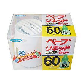 Lọ Đuổi Muỗi, Côn Trùng Kèm Tinh Dầu Nhật Bản (Tặng Hồng Trà Sữa)
