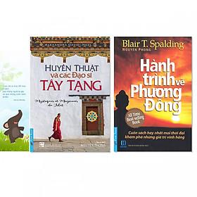 Combo 2 cuốn: Huyền Thuật Và Các Đạo Sĩ Tây Tạng, Hành Trình Về Phương Đông + Bookmark danh ngôn hình voi