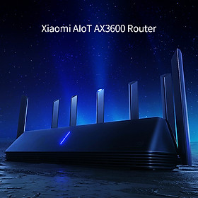 Xiaomi AIoT AX3600 Router Wifi6 Gigabit 2976Mbs Dual-Band WiFi Router WiFi Signal Amplifier with 6 High Gain Antennas
