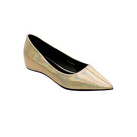 Giày Búp Bê Mũi Nhọn Đế Xuồng Sulily B05-IV17VANGKIM