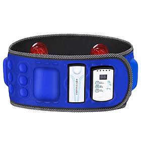 Đai massage bụng hồng ngoại pin sạc X6 - 6 motor rung