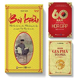 Sách - Combo 3 cuốn: Bói kiều; 60 năm sinh trong hoa giáp; Cách dựng gia phả tổ phả