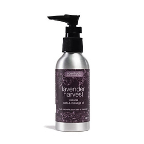 Dầu Tắm Massage Lavender Harvest Natural Bath & Masage Oil Scentuals (100ml)