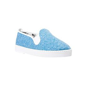 Giày Lười Flossy W Encauzado Light Blue - Xanh Nhạt