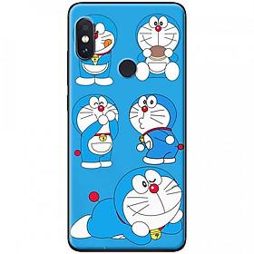Hình đại diện sản phẩm Ốp lưng dành cho Xiaomi Mi 8 mẫu Mon bánh rán