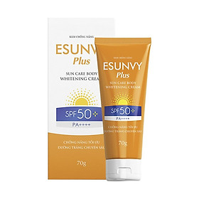 Kem Chống Nắng Esunvy Plus - Sun Care Body Whitening Cream (Tuýp 70g)
