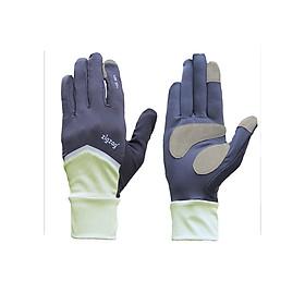 Găng tay Nonstop chống nắng UPF50+ kem đen Zigzag GLV01004