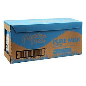 Thùng 12 hộp Sữa tươi tiệt trùng ít béo Meadow Fresh 1L
