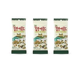 Combo 3 gói Hạt Hạnh Nhân Tẩm Vị Rong biển Tom's Farm Hàn Quốc 30G