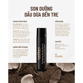 Son Dưỡng Dầu Dừa Bến Tre Cocoon-2