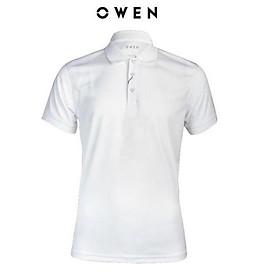 OWEN - Áo polo nam Owen màu trắng 22512 - Áo thun ngắn tay có cổ nam