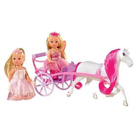 Đồ Chơi Búp Bê Cỗ Xe Ngựa Evi Love Romantic Carriage