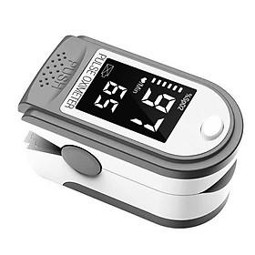 Máy đo huyết áp dạng kẹp ngón tay hỗ trợ đo nồng độ oxi trong máu, nhịp tim thông minh cho gia đình