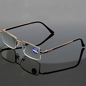 Kính lão thị viễn thị chống rỉ hợp kim titan cực êm và sáng rõ kv5pcp45