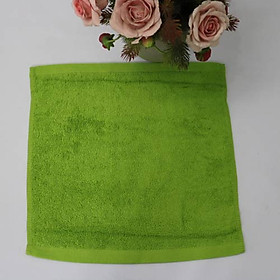 Combo 5 Khăn Làm Nail Cotton Nam Phong 34*34cm - màu Xanh Rêu-0