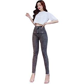 Quần jean nữ dài xinh xắn