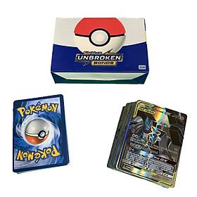 Bộ Thẻ Bài Pokemon 200 Thẻ (132Gx+62Tagteam+6Trainer) Chơi Đối Kháng New Đẹp