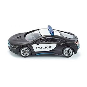 Đồ chơi mô hình SIKU Xe cảnh sát US BMW i8 màu đen 1533