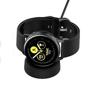 Dây Cáp Sạc Thay Thế Dành Cho Đồng Hồ Thông Minh Samsung Galaxy Watch Active / Active 2 Dạng Đế Dựa