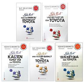 Combo Nghệ Thuật Đào Tạo Và Làm Việc Của Toyota (Bộ 5 Cuốn)